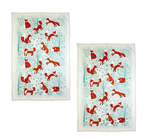 Ulster Weavers Foraging Fox Cotton Tea Towel (2)