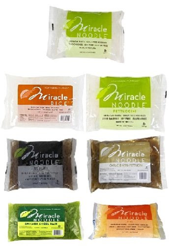 Miracle Noodle 7 Flavors Variety Sampler Pack