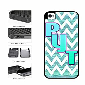 Pyt 2-Piece Dual Layer Phone Case Back Cover Apple iPhone 6 4.7 includes diy case Cloth and Warranty Label