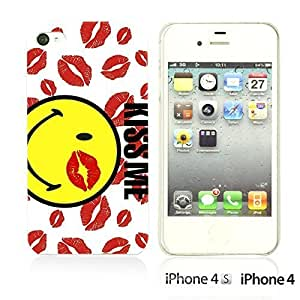 alTM - Funny Pattern HardbackDiy For Touch 4 Case Cover Kiss Me