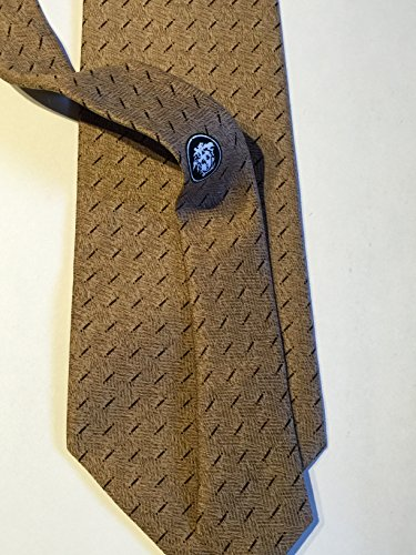 Versace Men's V2 Tie 100% Silk Made in Italy - In Versace Made