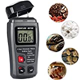 Wood Moisture Meter,TopOne Timber Humidity Checker with LCD Display for Firewood Log Burner Furniture Damp Measuring (Range 0% to 99.9%) … (moisture meter)