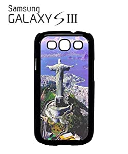 Brazil Jesus Christ StatueMobile Cell Phone Case Samsung Galaxy S3 White