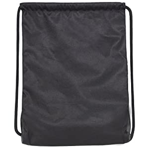 adidas Alliance II Sackpack, 18 x 13 3/4-Inch, Black