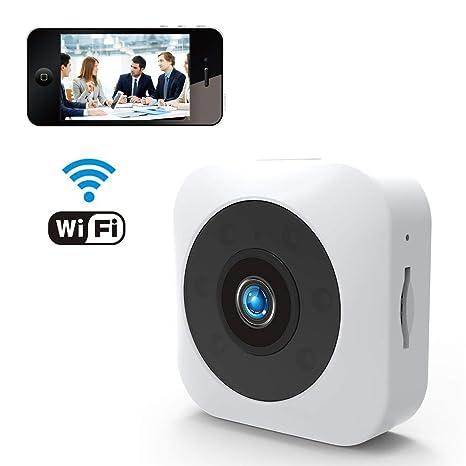 Cámara Oculta, cámara fotográfica de 1080P Mini, cámara sin Hilos de HD WiFi pequeña