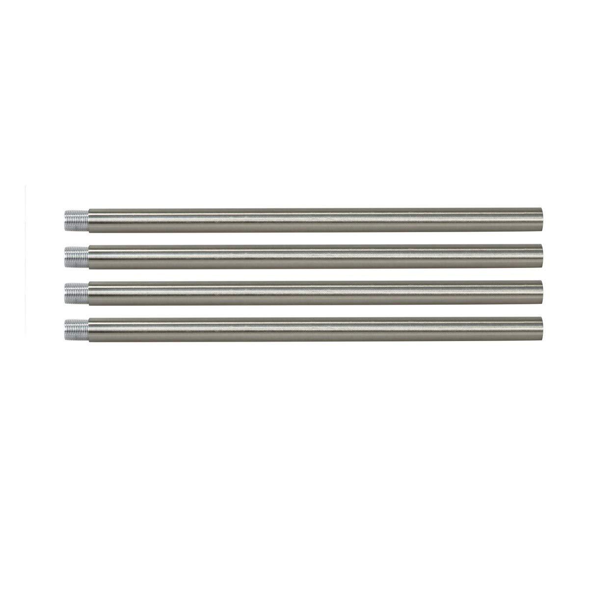 BONLICHT Rods for Modern Brushed Nickel Sputnik Chandelier Lighting Included 4 Rods