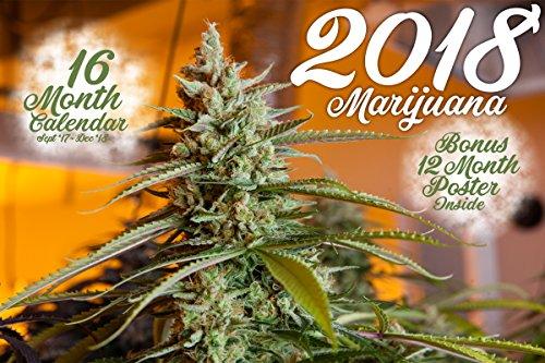 2018 Marijuana Wall Calendar