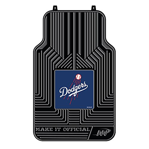 The Northwest Company MLB Los Angeles Dodgers Licensed Front Floor Mats, One Size, Multicolor