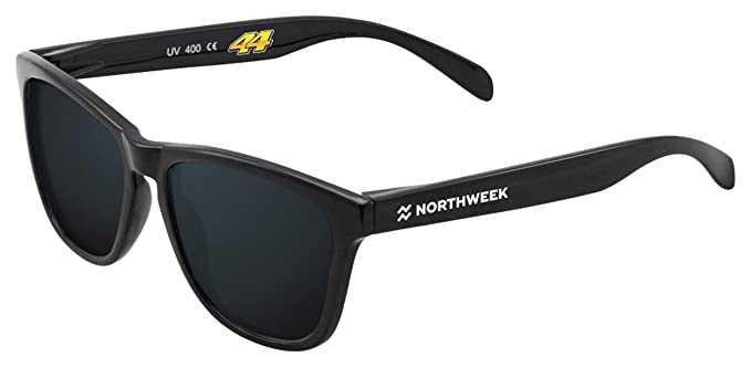 NORTHWEEK Espargaro Gafas de sol, Black, 45 Unisex: Amazon ...