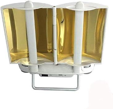 Kingwon Plegable Copper Antena Parabólica Range Booster para dji Phantom 4 4 Pro Phantom 3 Professional Advanced Controlador Parabolic Transmisor ...
