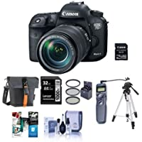 Canon EOS 7D Mark II DSLR Camera with EF-S 18-135mm IS USM Lens and W-E1 Wi-Fi Adaper Kit - Bundle with Camera Case, 32GB SDHC Card, Remote Shutter Trigger, 67mm Filter Kit, Software Package and More