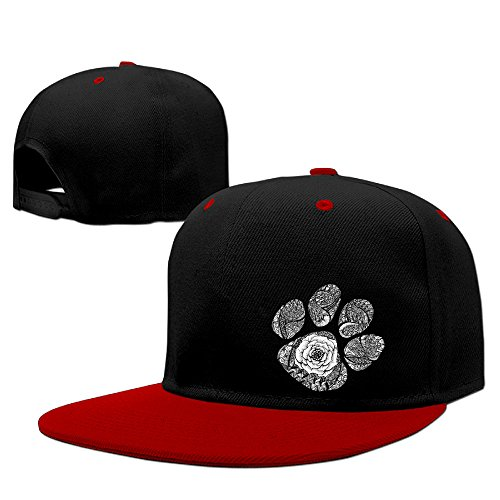 Texhood ED Rose Cool Trucker Hat One Size Red