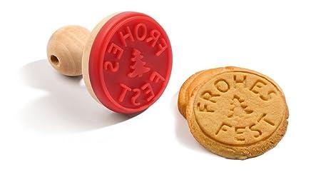 ArsEdition Cookie Stamp Craft Molds DIY Plus Recipe 6 Cm Diameter