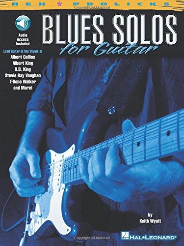 Blues Solos for Guitar (Reh Z Prolicks Series)