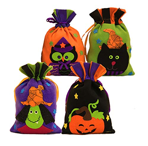 IRELIA Halloween kids Candy Tote Bags Trick or Treat Drawstring Package 02