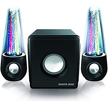 Amazon Com Sharper Image Sbt5002 Water And Light Show