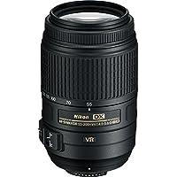 Nikon AF-S DX NIKKOR 55-300mm f/4.5-5.6G ED Vibration Reduction Zoom Lens with Auto Focus for Nikon DSLR Cameras International Version (No warranty)