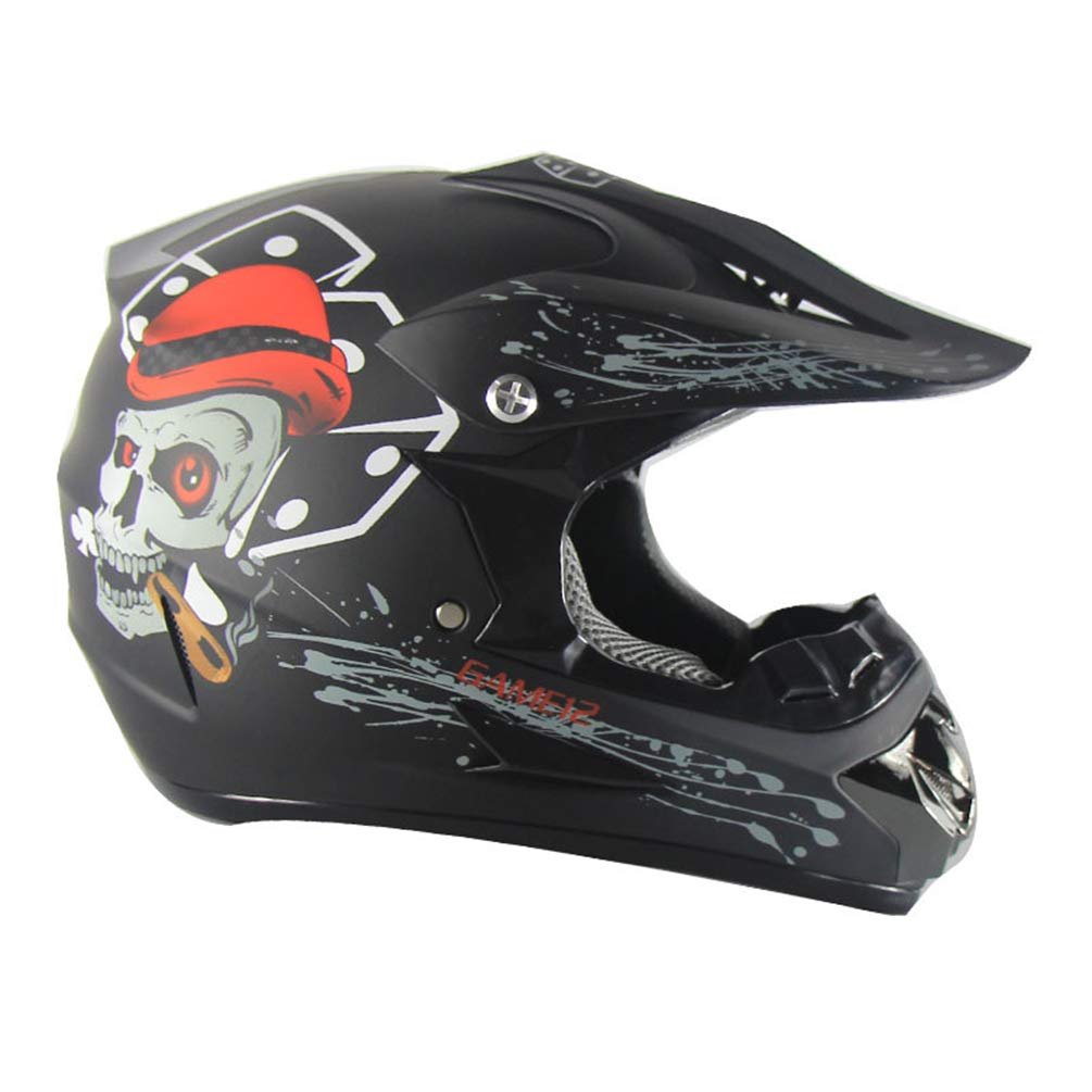 Stampa Moto Stampa su Strada Racing Casco Cross Country Casco Adulto Motobiker
