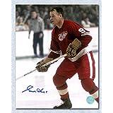Gordie Howe Detroit Red Wings Autographed Mr Hockey Action 11x14 Photo