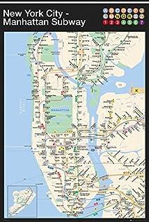 Amazon Com New York City Subway Map Poster Print Nyc Poster