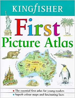 Kingfisher First Picture Atlas by Lyn Williamson (1998-06-01)