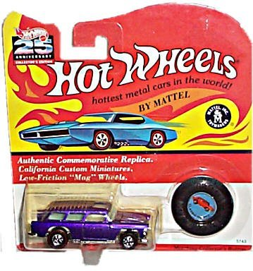 Hot Wheels - 25th Anniverary Collector's Edition - Classic Nomad (Metalflake Purple) - Authentic Commemorative ()
