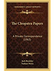 The Cleopatra Papers: A Private Correspondence (1963)