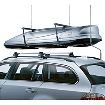 BMW 5 Series E61 Wagon Genuine Factory OEM 82710415052 Roof Rack Crossbars  2004   2010