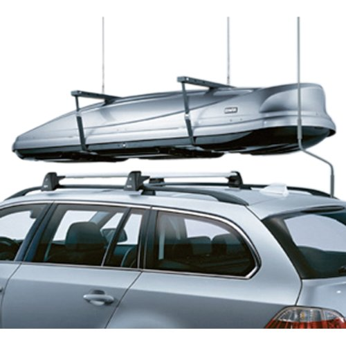 Bmw 5 Series Cross (BMW 5 series E61 Wagon Genuine Factory OEM 82710415052 Roof Rack Crossbars 2004 - 2010)