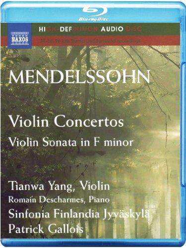 Mendelssohn Violin Sonata (Mendelssohn: Violin Concertos; Violin Sonata in F minor (Blu Ray)