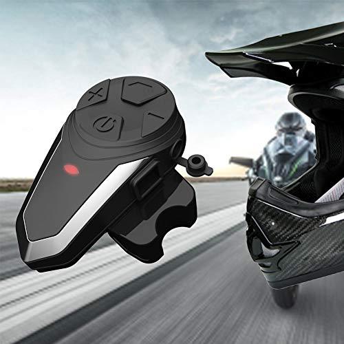 yunbox299 Earphone Earbuds Headset Headphone, S3 1000M Motorcycle Helmet Bluetooth Waterproof Headset Communication Interphone ()
