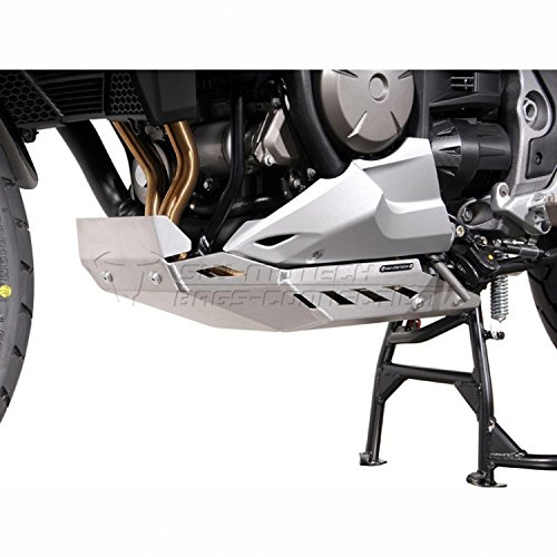 SW-MOTECH Aluminum Engine Guard Skid Plate For Honda VFR1200X '16-'17 (Engine Guard Skid Plate)