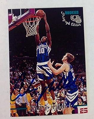 1995 Classic Basketball Andre Riddick Autograph Kentucky Wildcats NCAA