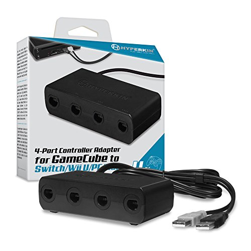Hyperkin 4-Port Controller Adapter for GameCube to Switch/ Wii U/ PC/ Mac -