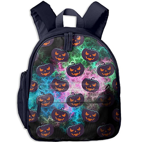 Children Pre School Backpack Boy&girl's Scary Pumpkins For