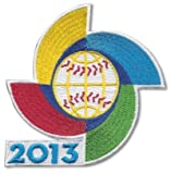 2013 WBC World Baseball Classic Logo Jersey Sleeve Patch Official Spinner MLB