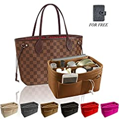 AWAY FROM MESS: Our purse organizer is your beautiful bags' perfect partner. Make your bag interior neat and well organized. No need to worry about finding things. Every item could be clearly seen and well protected. Even it can be used as ot...