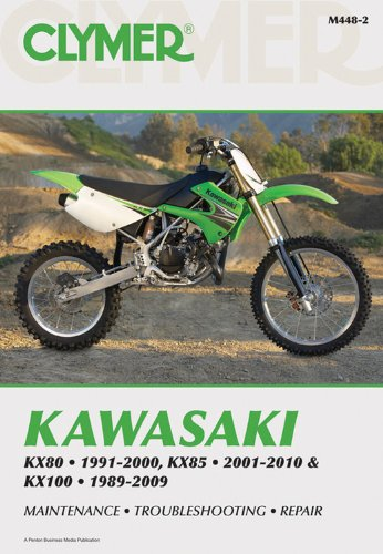 Kawasaki KX80 91-00, KX85 01-10 and KX100 89-09 (Clymer Motorcycle Repair)
