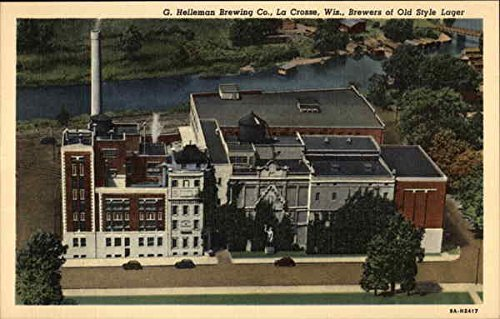 - G. Helleman Brewing Co, Brewers of Old Style Lager La Crosse, Wisconsin Original Vintage Postcard