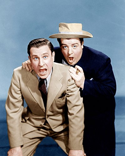 Posterazzi Hold That Ghost (from Left): Bud Abbott Lou Costello 1941 Photo Poster Print (8 x 10)