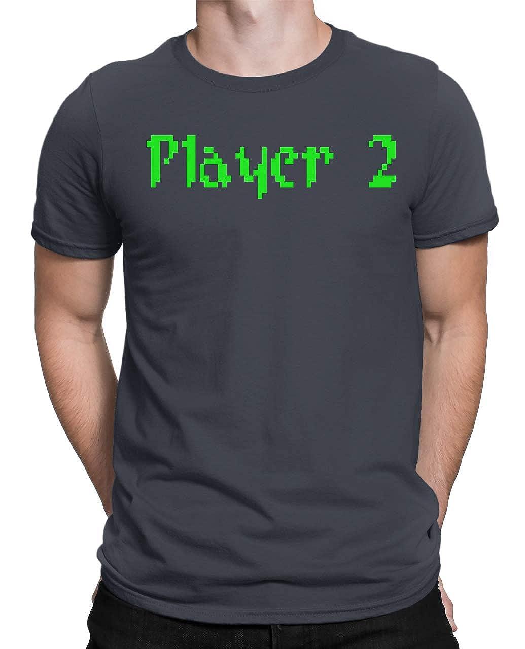 Tenacitee Mens Pixel Player 2 T-Shirt