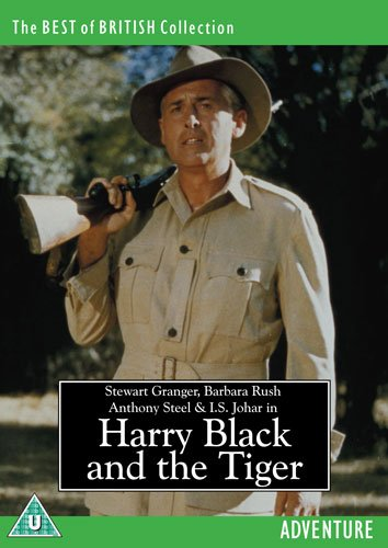 Harry Black & the Tiger [DVD] [Import]