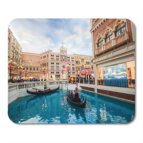 Semtomn Mouse Pad Macau China February 22 The Venetian Interior View is Mousepad 9.8