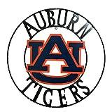 LRT SALES LLC NCAA Auburn Tigers Licensed Collegiate Wrought Iron Wall Decor, Orange/Blue, 24''
