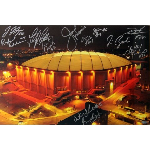 Syracuse Carrier Dome Multi Signed Horizontal 16x20 Photo (12 Sigs)