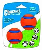 Chuckit! Small Ultra Ball 2-Inch, 2-Pack, My Pet Supplies