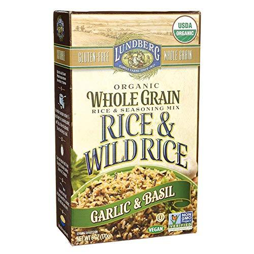 (Lundberg Family Farms, Rice Whole Grain And Wild Garlic Basil Organic, 6 Ounce)
