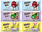 good and bad jelly beans - M&M's Easter Basket Gifts Stuffer - Chocolate Candy Mix 2 Milk, 2 Dark, 2 Peanut (11.4 oz. Bags, 6 Count)