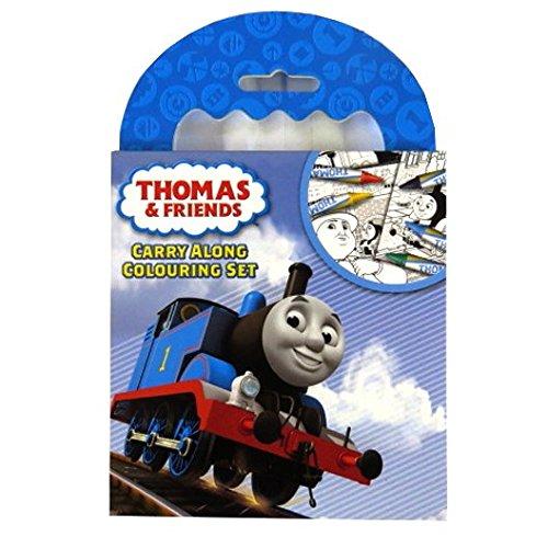 Creativo de los niños Carry Set para colorear – Thomas The Tank – 5 ...