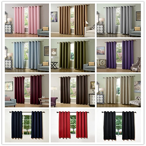 Blackout curtains 90 x 72 cream - StoreIadore